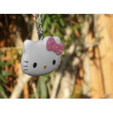 Huge Hello Kitty Bling Necklace Super Cute