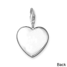 Barbie Charm With Clasp For Charm Bracelets Sterling Silver Plated